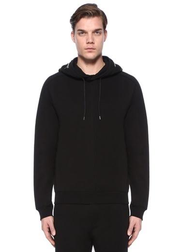 McQ Alexander McQueen Kapüşonlu Sweatshirt Siyah